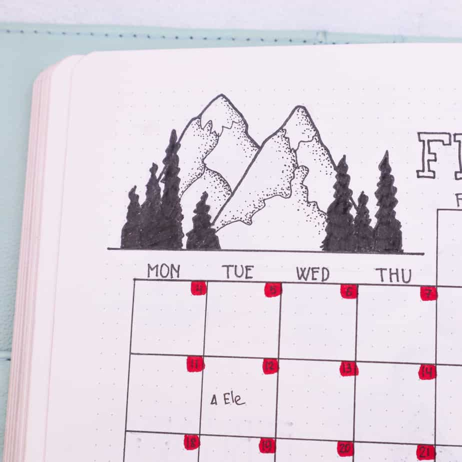 Master Your Bullet Journal Doodles: Learn How To Doodle | Masha Plans