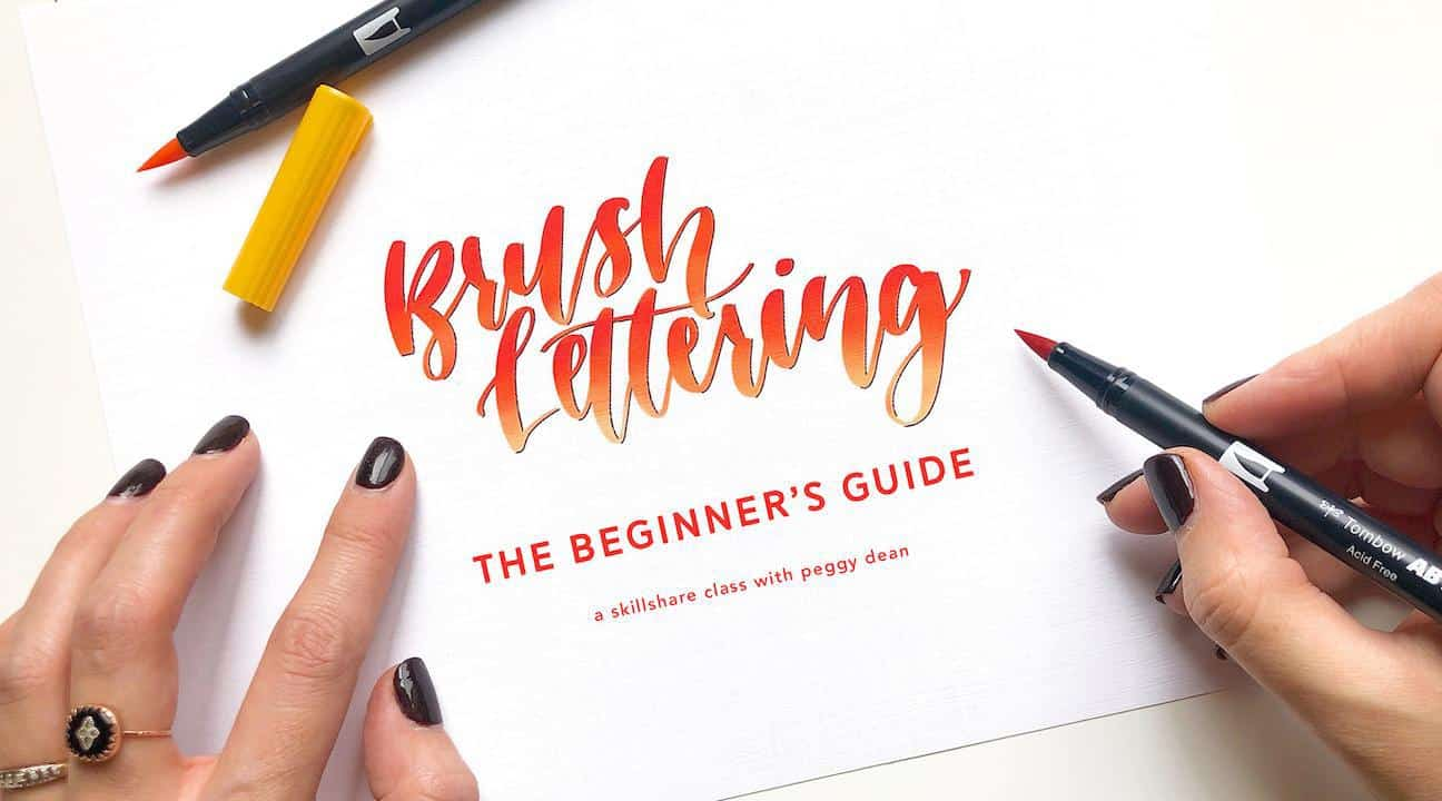 Skillshare lettering classes | Masha Plans