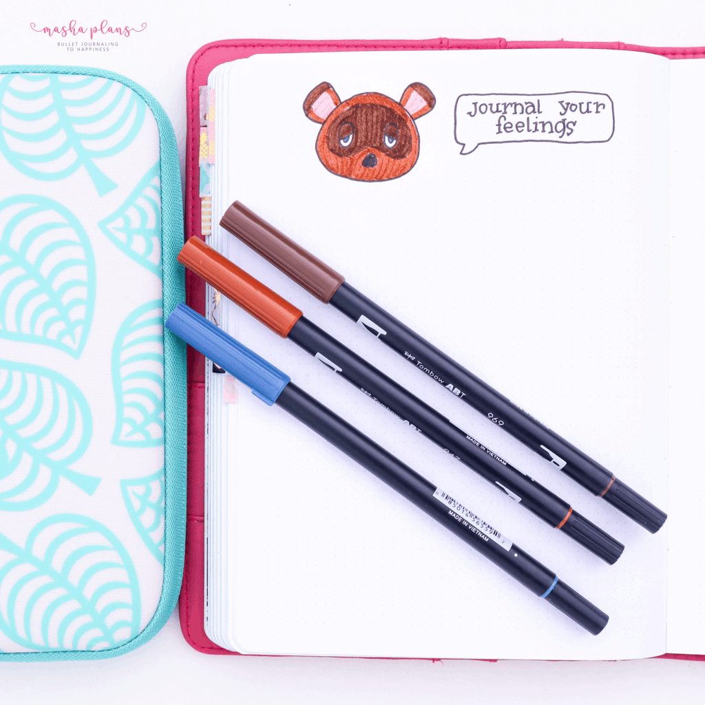 Animal Crossing Bullet Journal Inspirations - journaling pages | Masha Plans