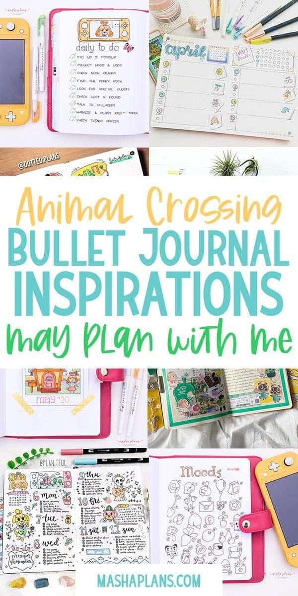 Animal Crossing Bullet Journal Inspirations | Masha Plans