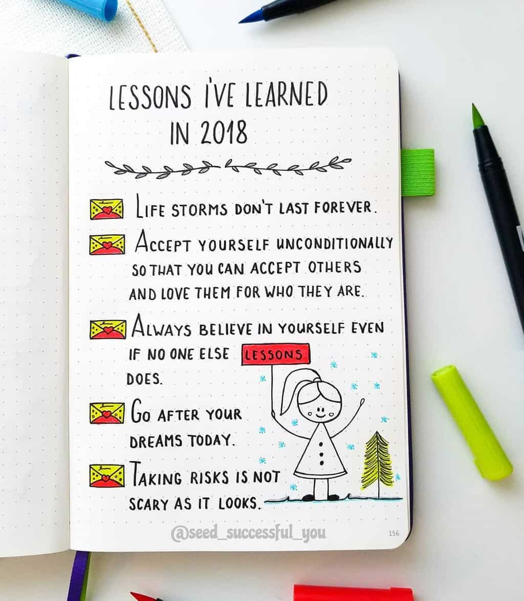 Bullet Journal For Mental Health - lessons I learned by @seed_successful_you | Masha Plans