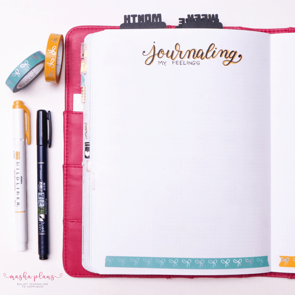 Plan With Me: June Bullet Journal Setup - journaling pages | Masha Plans