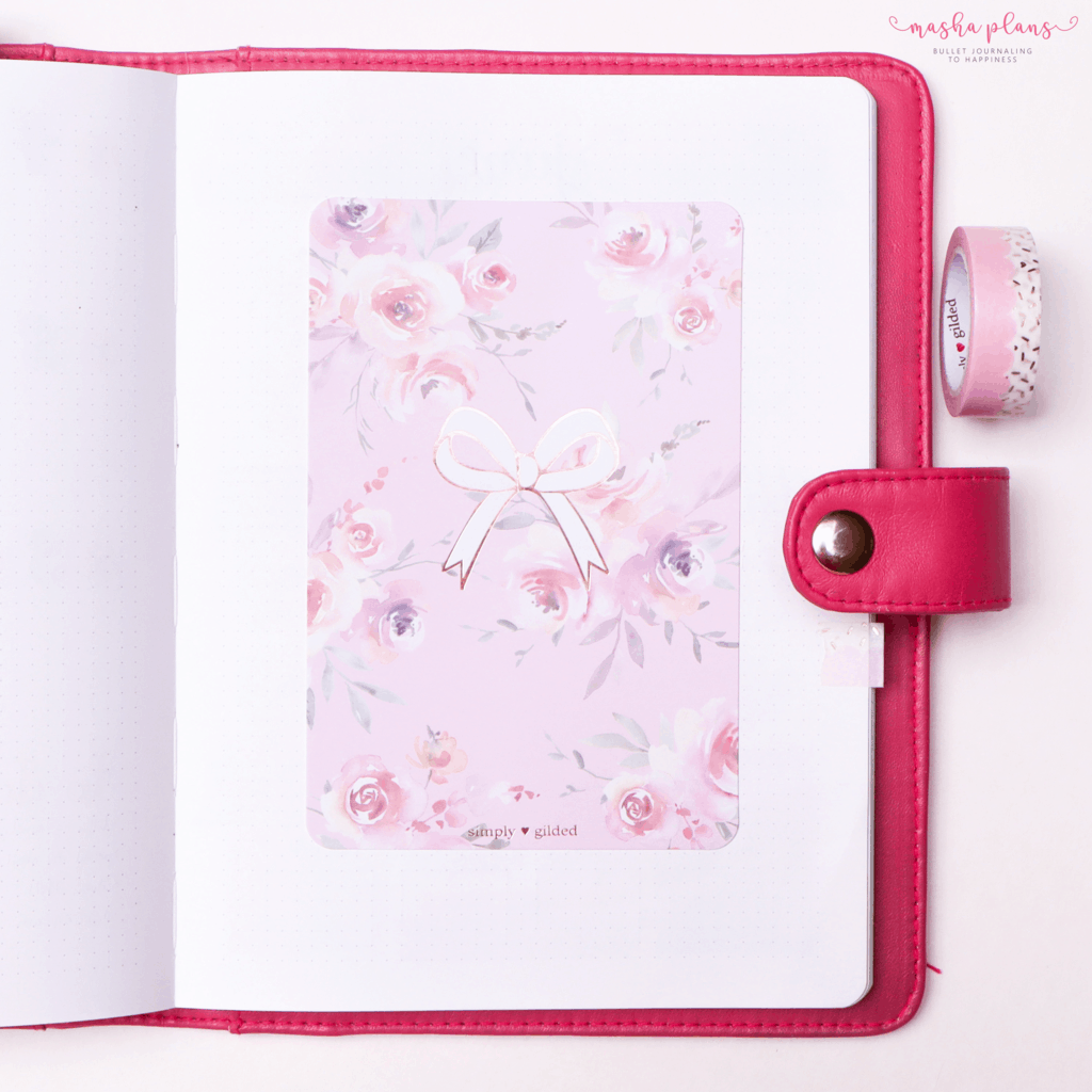 Plan With Me: June Bullet Journal Setup - cover page | Masha Plans
