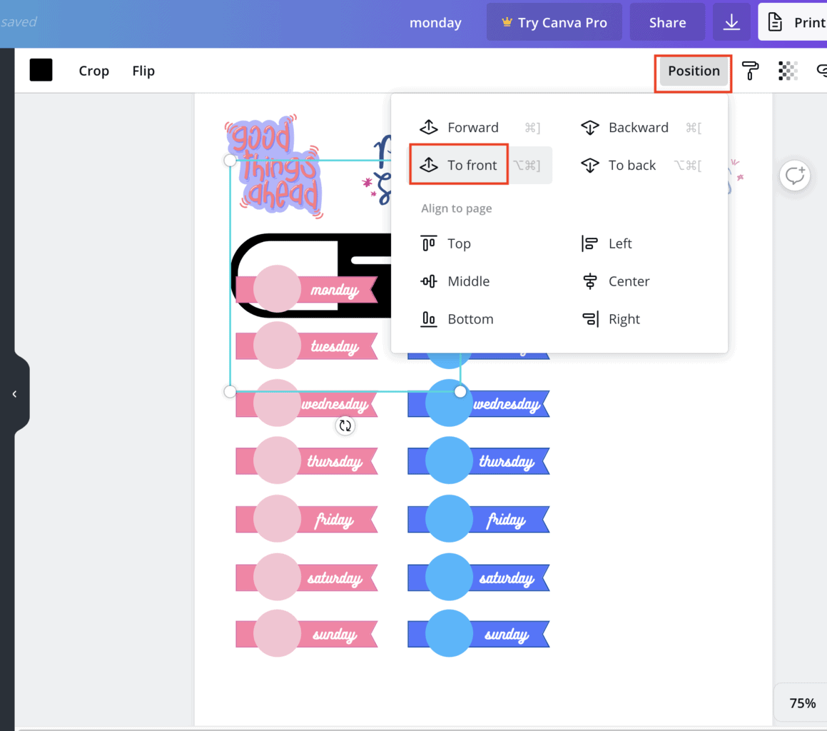 How To Use Canva To Create Stickers | Masha Plans