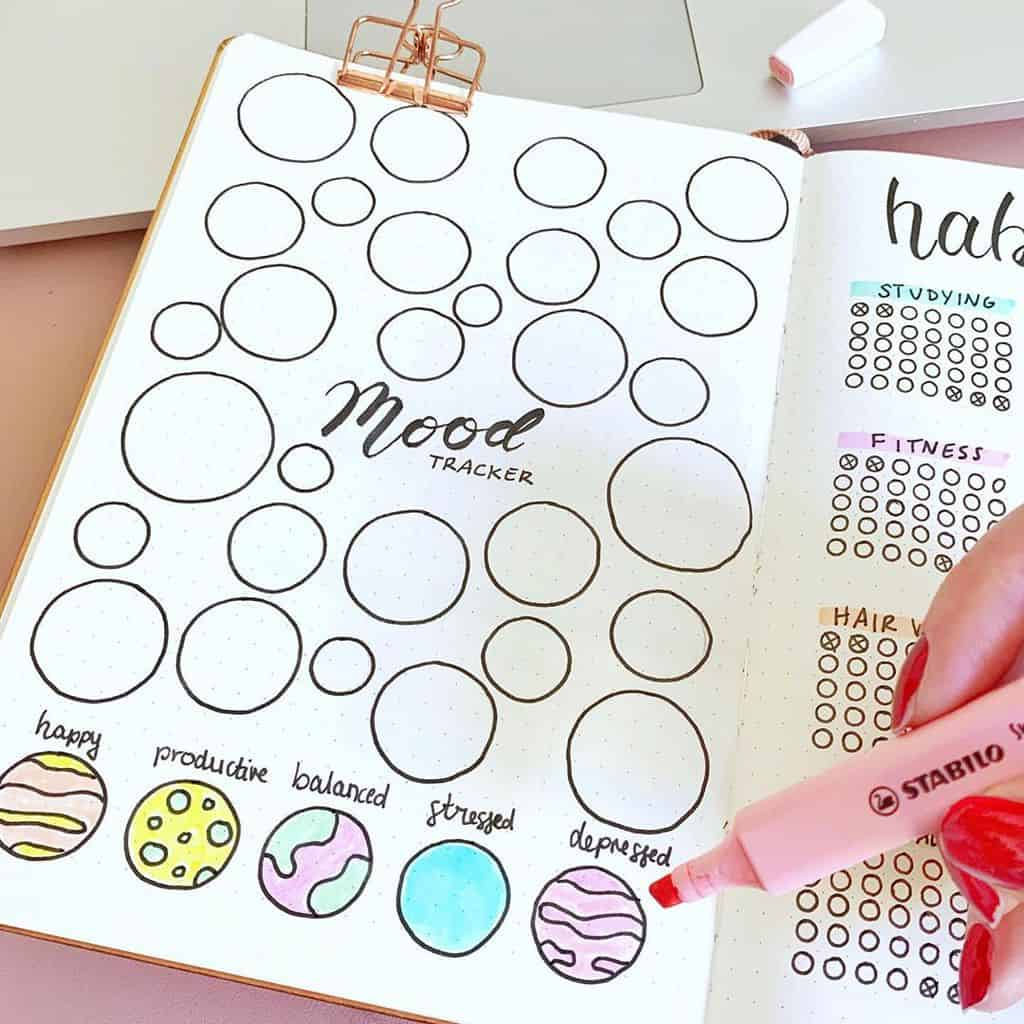 Mood Tracker by @give.it.a.try.susi | Masha Plans