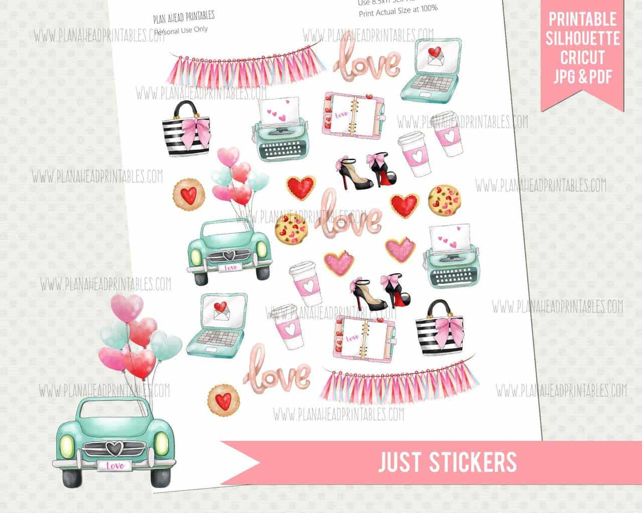 Stickers by PlanAheadPrintables