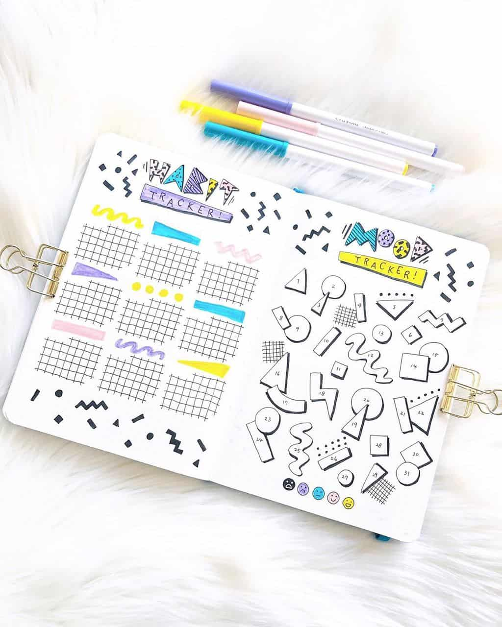 Bullet Journal Mood Tracker by @tingsbulletjournal | Masha Plans