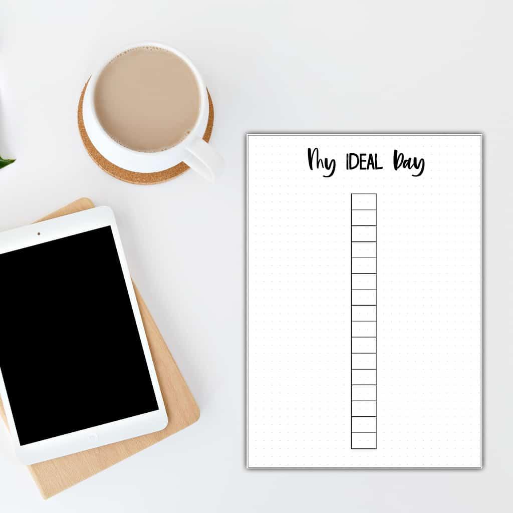 My Ideas Day - Free Printable | Masha Plans