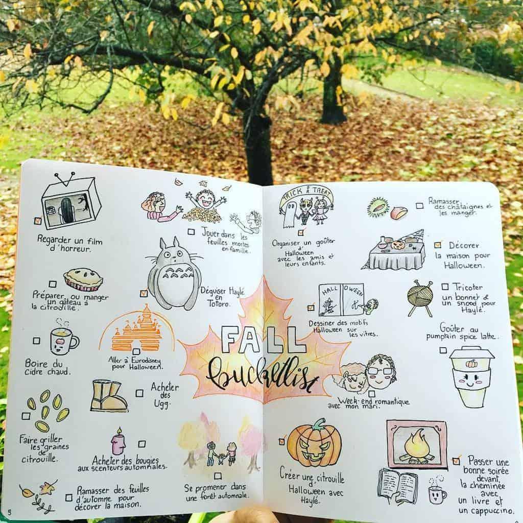 31 Fall Bucket List Ideas And Bullet Journal Inspirations Masha Plans
