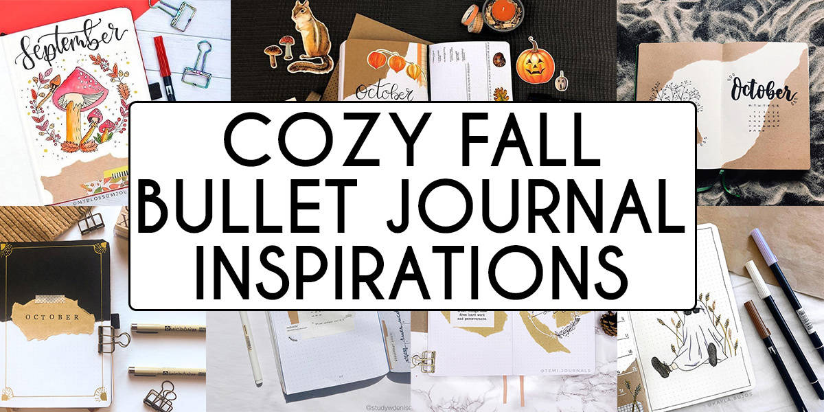 Cozy Fall Bullet Journal Inspirations With Kraft Paper | Masha Plans