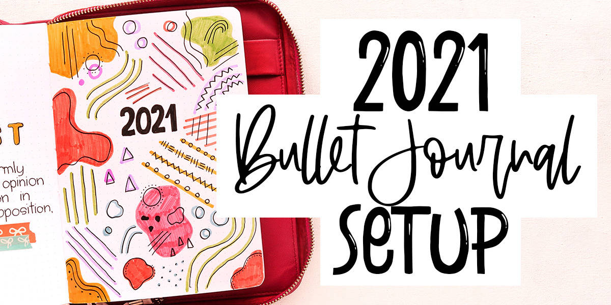 Plan With Me: My 2021 Bullet Journal Setup | Masha Plans
