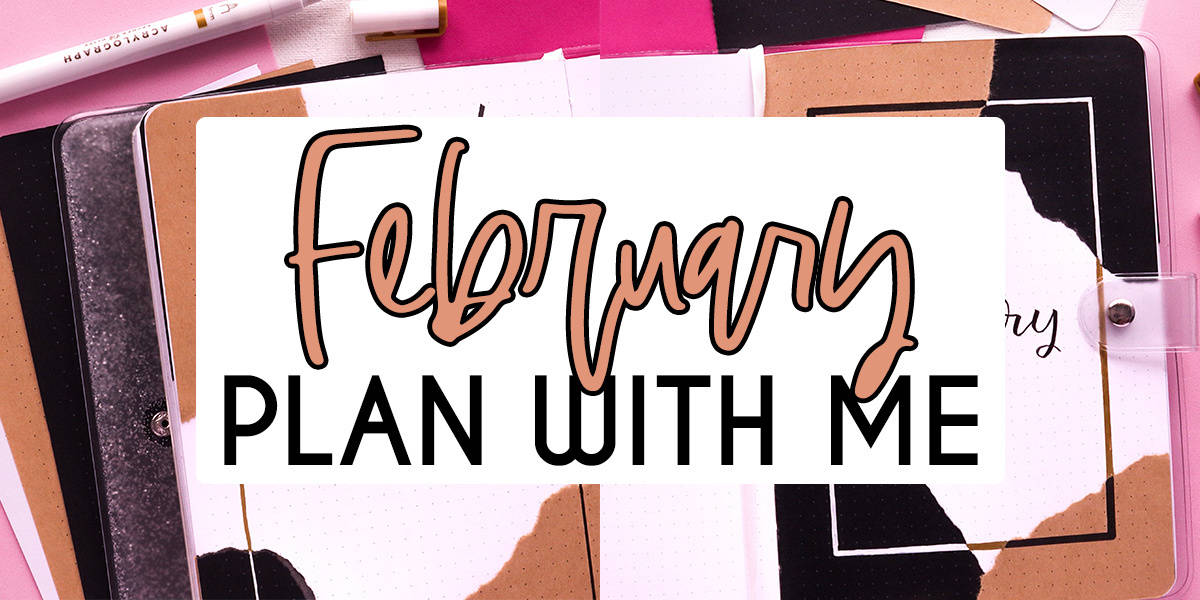Aesthetic Bullet Journal Setup: February 2021 Plan With Me | Masha Plans