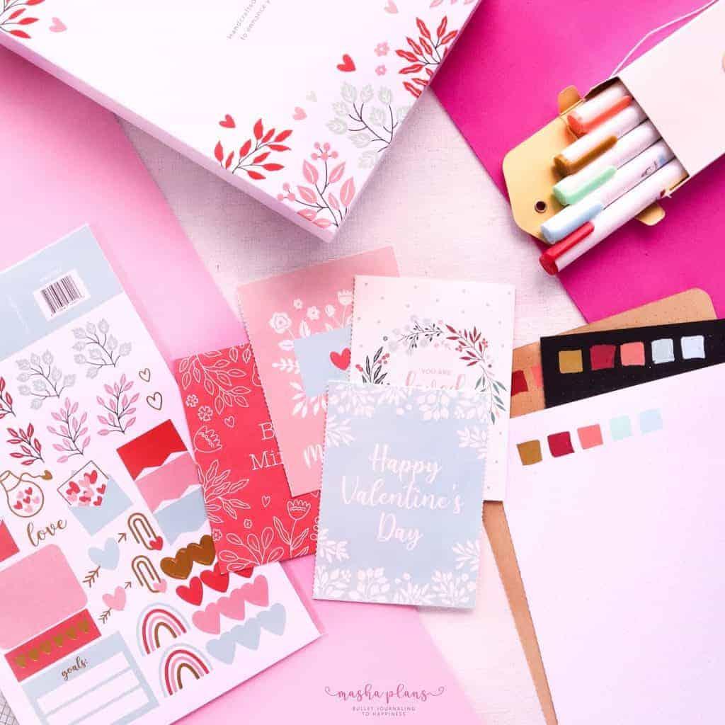 Archer and Olive Valentine's day Box | Masha Plans