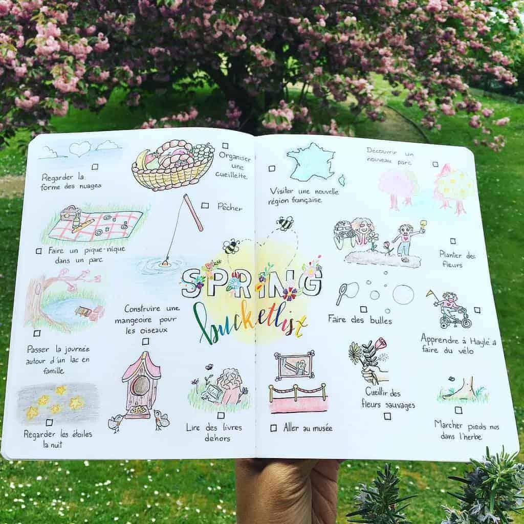 Spring Bucket List by @brown_voodoo | Masha Plans
