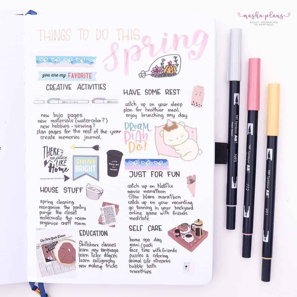 Spring Bucket List | Masha Plans