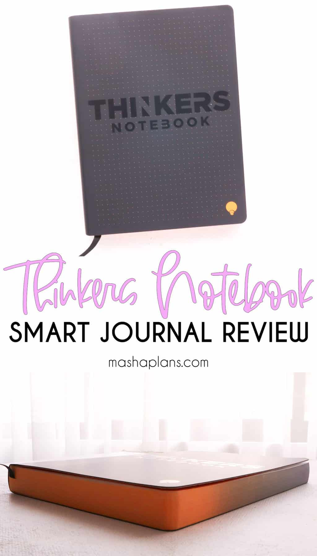 Nuuna Thinkers Notebook Review   Masha Plans