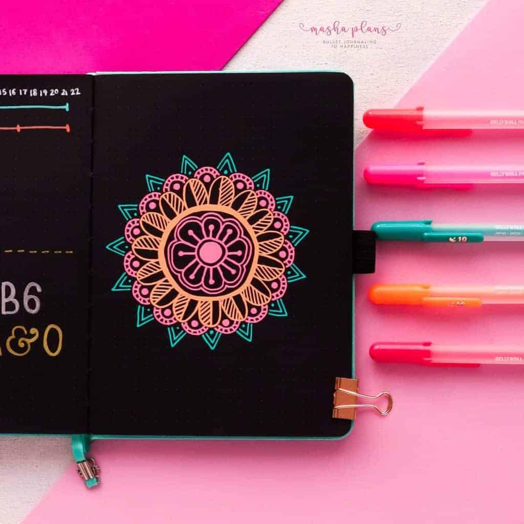 Best Doodling Pens, Sakura Gelly Roll | Masha Plans