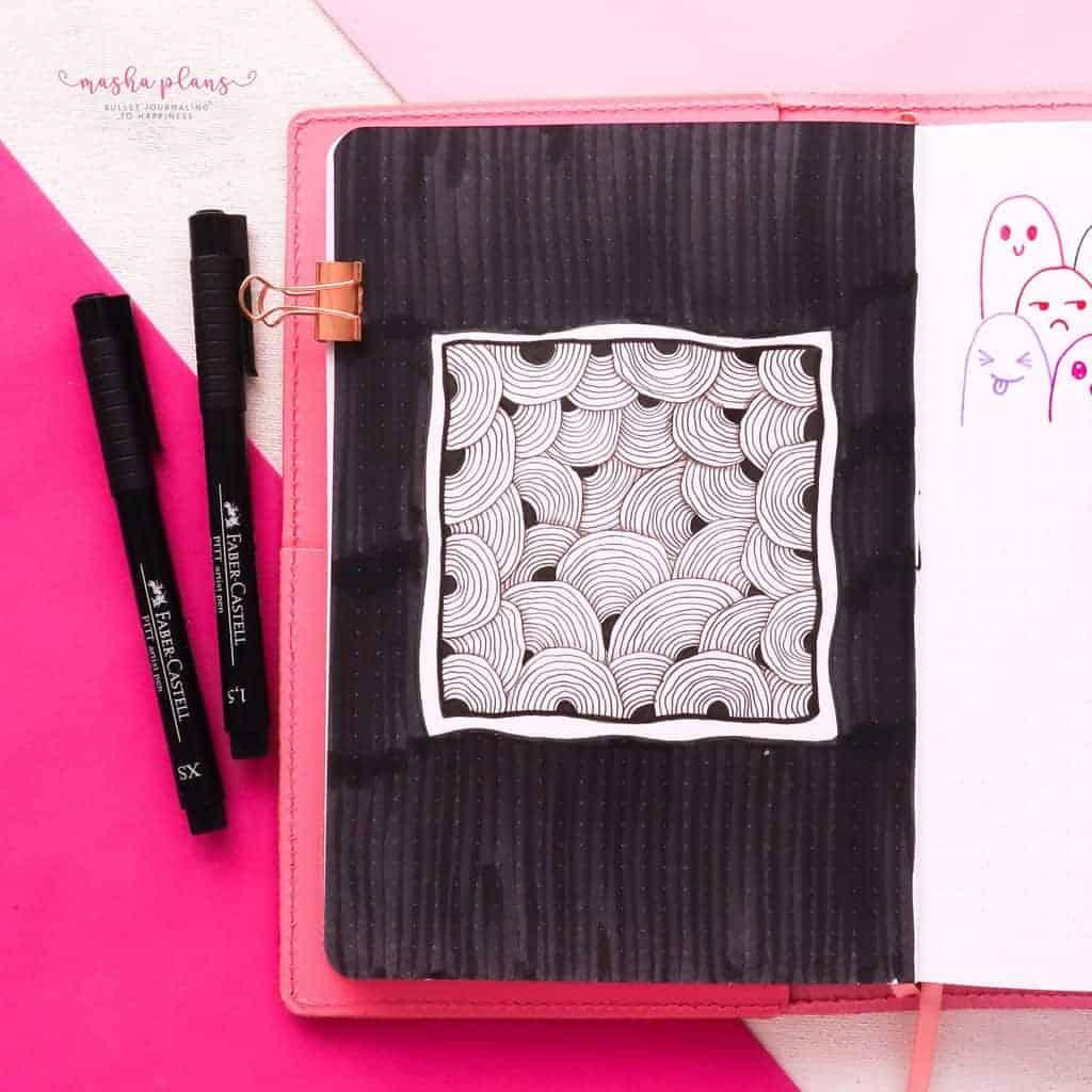 Best Doodling Pens, Faber Castell Pitt Artist Pens | Masha Plans