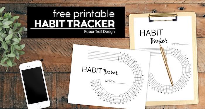 Free Printable Circle Tracker By Paper Trail Design | Masha Plans